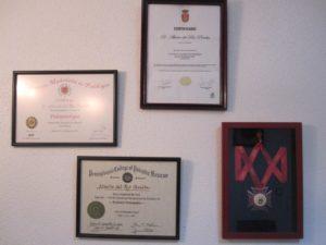 Certificaciones podología
