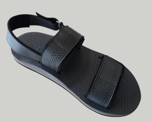 Sandalias personalizadas con plantilla